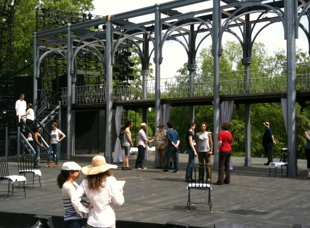 Delacorte stage