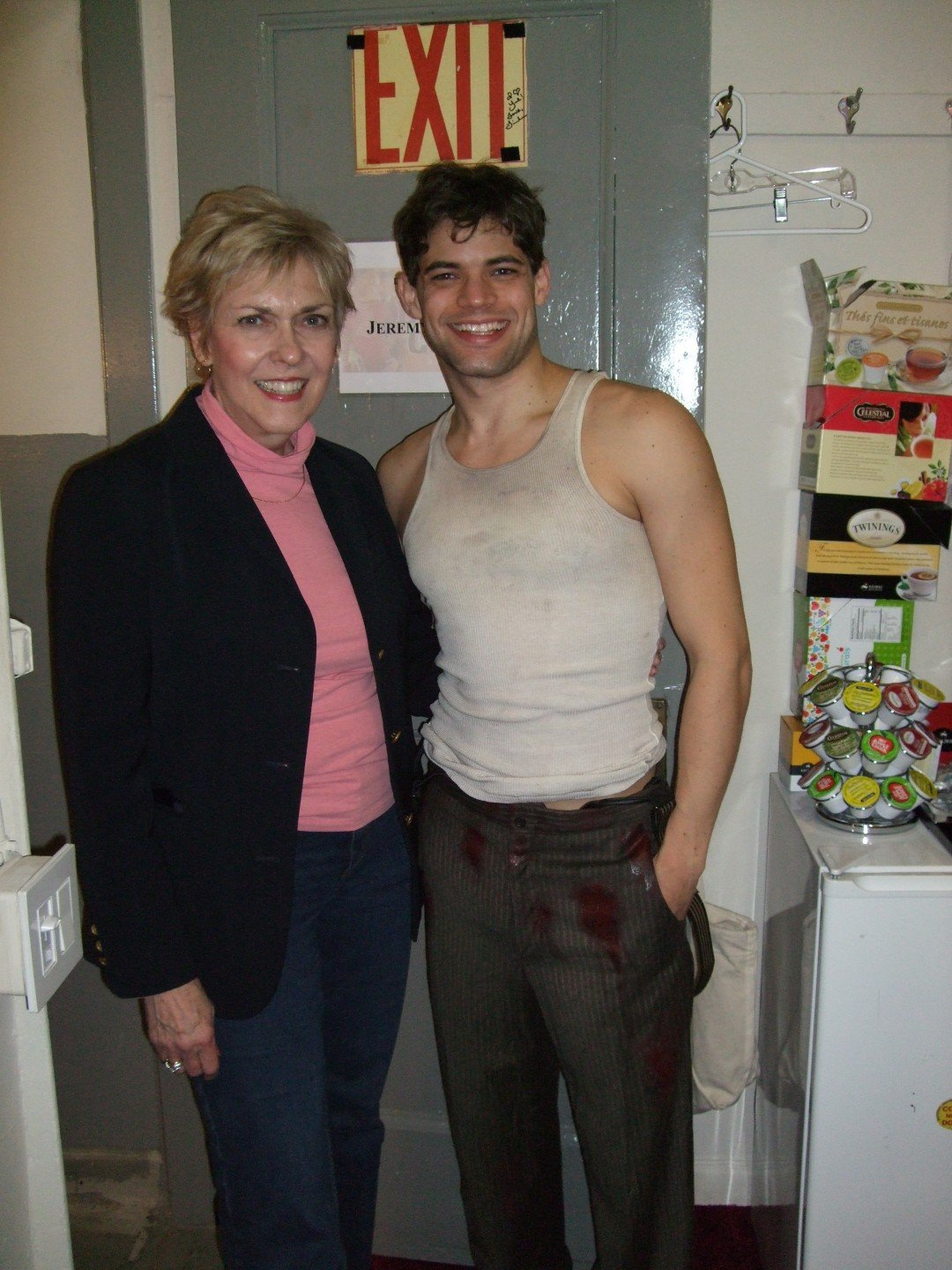 Backstage with Jeremy Jordan - Bonnie & Clyde