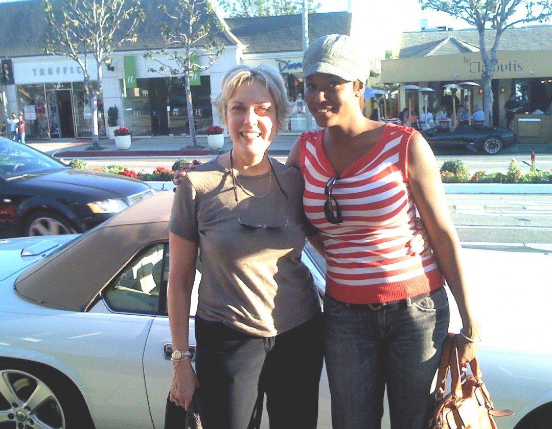 Cassandra Freeman in L.A.