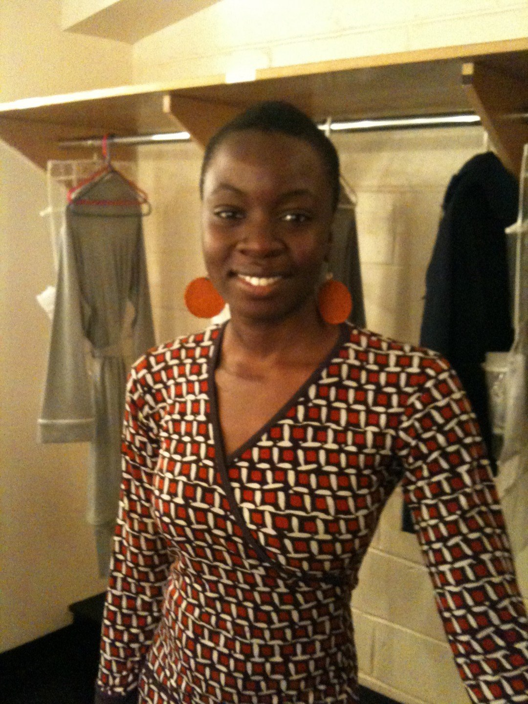 Danai Gurira (Isabella in Measure) Shakespeare in the Park