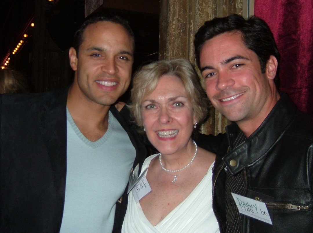 Daniel Sunjata and Danny Pino at NYU Grad Acting Gala