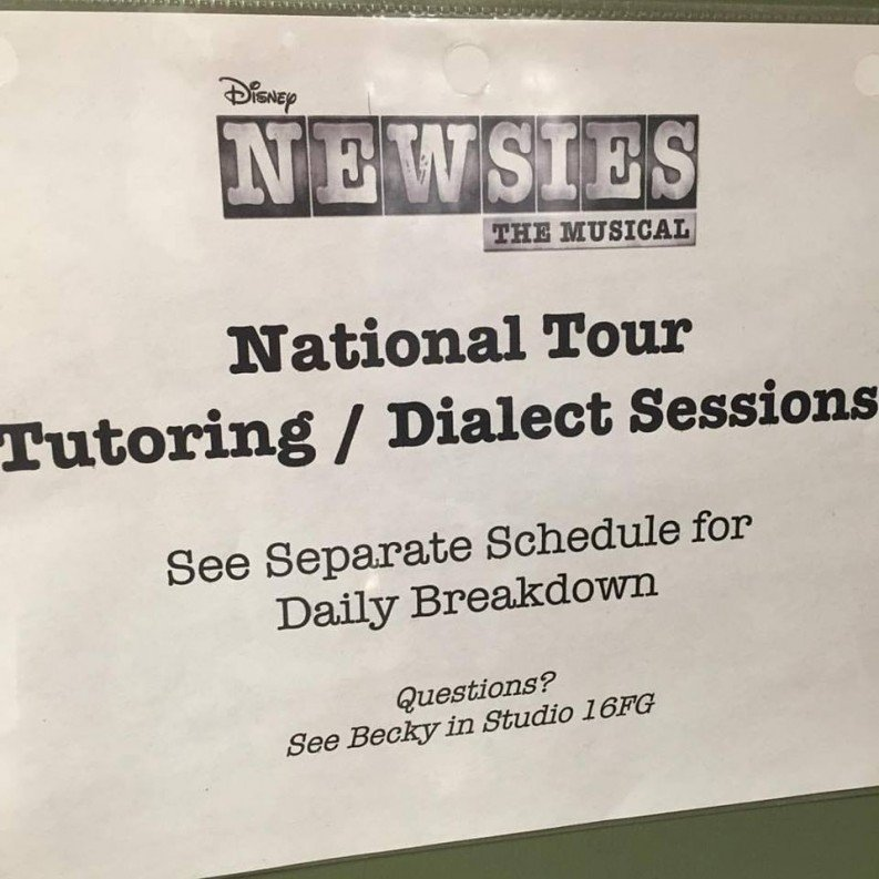Newsies Second National Tour