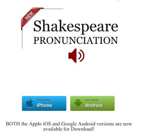 Shakespeare Mobile App