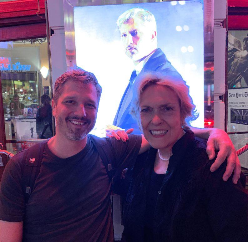 Dominik Tiefenthaler stars in The Lehman Trilogy